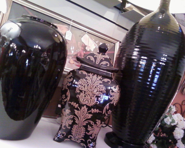Home decor and furnishings for your home.  Wholesale pricing!  vases