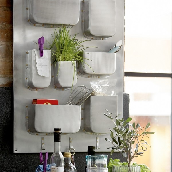 Industrial Wall Storage by House Doctor eclectic storage and organization
