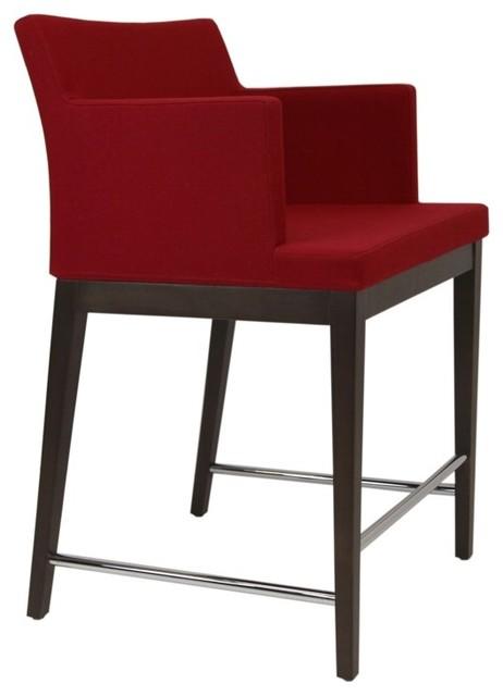 Soho Wood Stool by sohoConcept contemporary-bar-stools-and-counter-stools