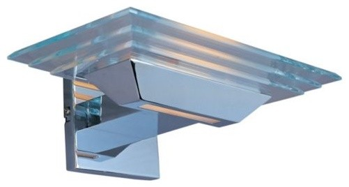 Strato Wall Sconce With Pyramid Glass by ET2 Lighting contemporary-wall-lighting