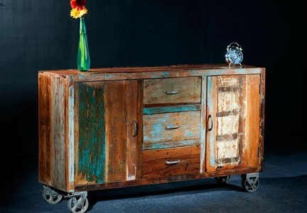 Rosita Reclaimed Wood Console / Sideboard - modern - furniture