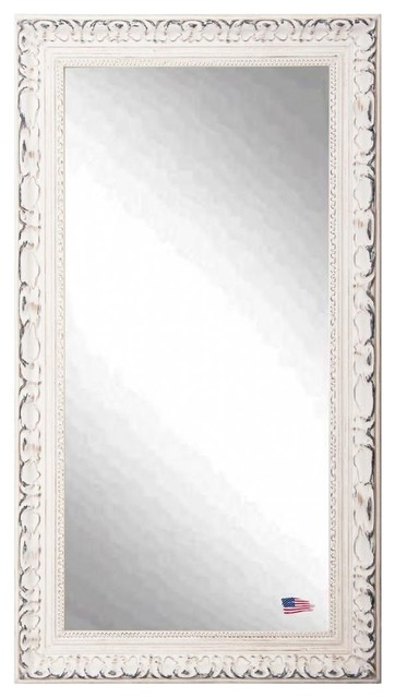 American made romantic french victorian white full length for White floor length mirror