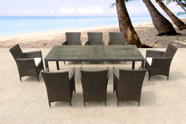 Outdoor Furniture contemporary-outdoor-dining-tables