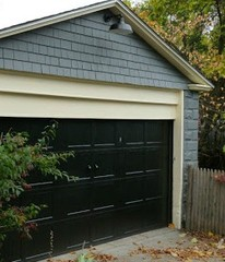 Gooseneck Farm Light for a Garage Makeover in Rhode Island | Gooseneck Barn Ligh