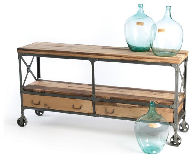 Sideboard Industrial Look ~ Kenton sideboard industrial console tables by indeed