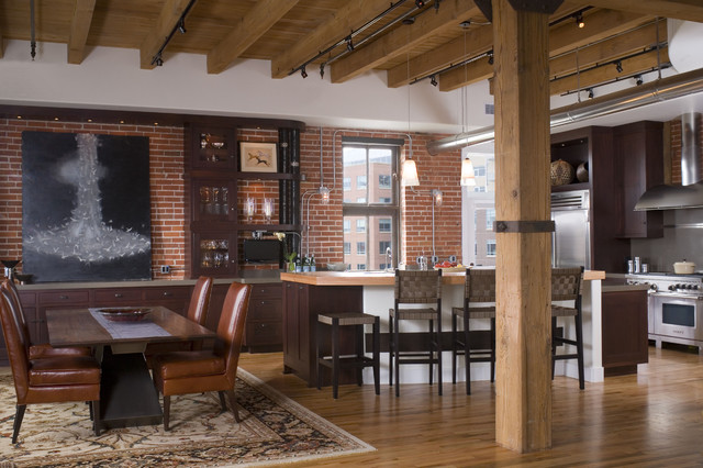 Denver Loft Traditional Denver By Exquisite Kitchen