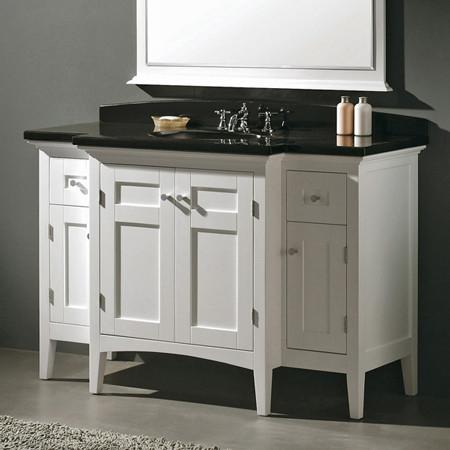 vanity white w white granite top contemporary bathroom vanities