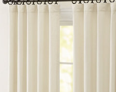 Peyton Linen/Cotton Drape contemporary-curtains