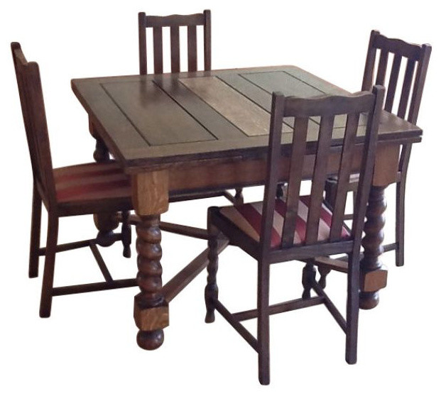 SOLD OUT Barley Twist Table And 8 Chairs 2750 Est