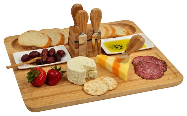 Sherborne Cheese Board Set Modern Cutting Boards By