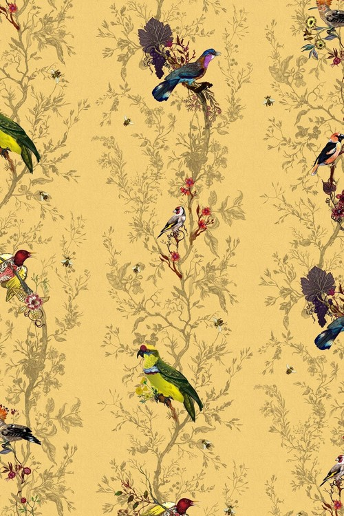 20 stunning retro wallpaper designs to transform your walls ...