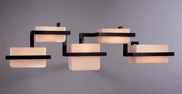 George Kovacs - Tower Vanity Light asian bathroom lighting and vanity lighting