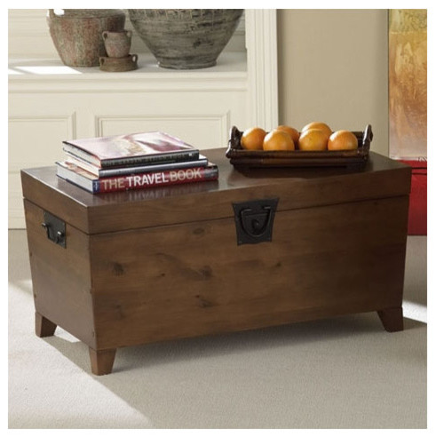 Danville Trunk Coffee Table With Lift Top Modern