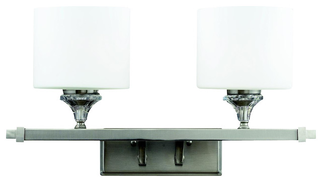 Z-Lite 2 Light Vanity Light bathroom-vanity-lighting