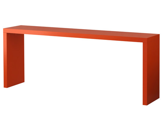 Malm Occasional Table, Orange -