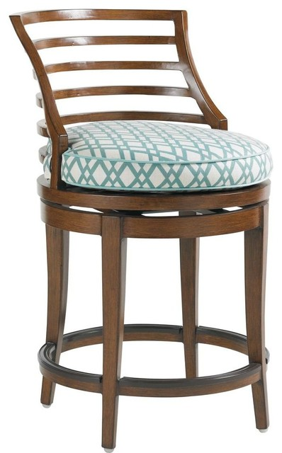 Tommy Bahama Ocean Club Pacifica Swivel Counter Stool
