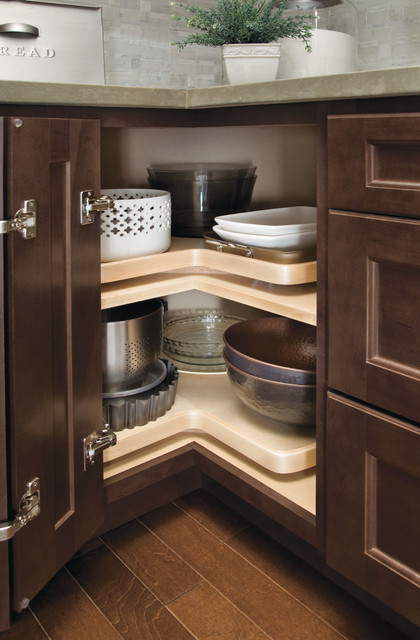 Homecrest Corner Lazy Susan Cabinet - other metro - by MasterBrand Cabinets, Inc.