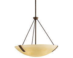 """Arts and Crafts - Mission Montara Collection 24 1/2"""" Wide Pendant Light modern-pendant-lighting"""