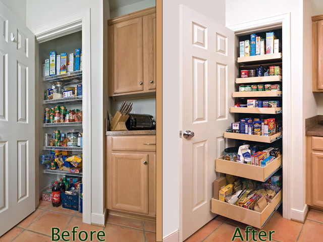 Pantry Pull Out Shelves - indianapolis - by ShelfGenie of Indiana