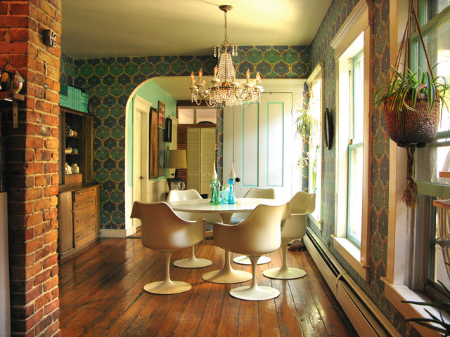 dining room - portland, maine - wary meyers decorative arts eclectic