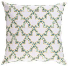 Surya Decorative Pillow FF023 Ivory