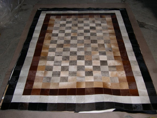 Cow hide modern-rugs