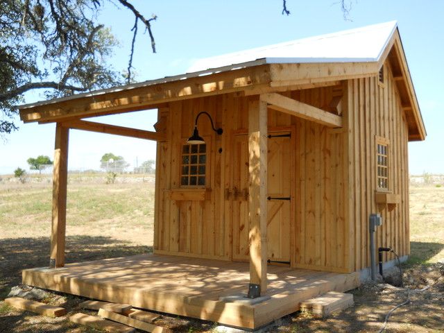 Well house for equine development rustic austin by for Well designed homes