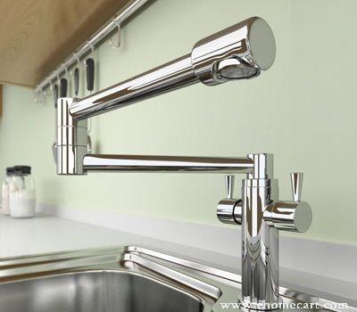 modern chrome dual handles kitchen sink faucet modern