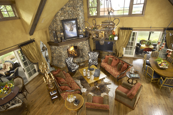 Minnesota Ranch Home traditional 