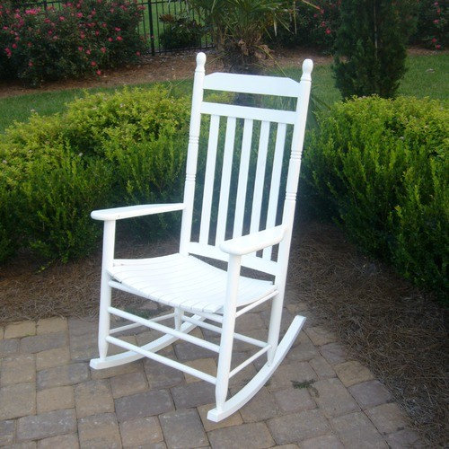 Adult Indoor Outdoor Rocking Chair RTA Modern Outdoor Rocking Chairs