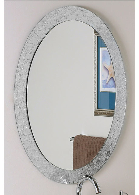 wall mirror contemporary bathroom mirrors by