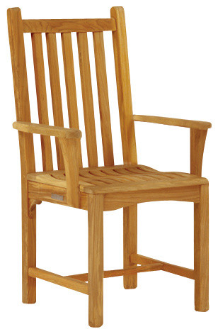 Classic Dining Armchair - By Kingsley Bate traditional-outdoor-dining-chairs