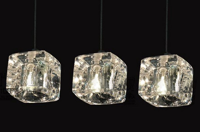 crystal square pendant lighting contemporary pendant lighting
