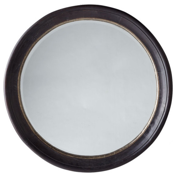 Round Indian Mirror traditional-wall-mirrors
