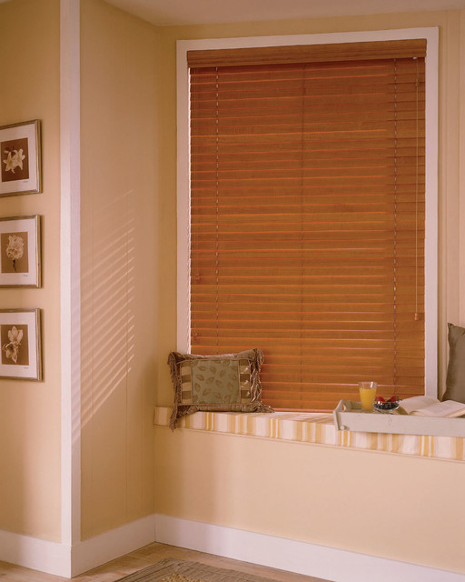 Steve's Exclusive Collection Wood Blinds window-blinds