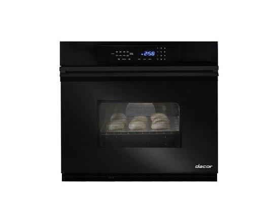 "Dacor Classic Millennia 27"" Single Wall Oven, Black | MORS127B - 3.4 CU FT OVEN CAPACITY"