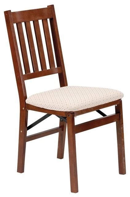 Arts and Crafts Folding Chair in Warm Cherry craftsman-task-chairs