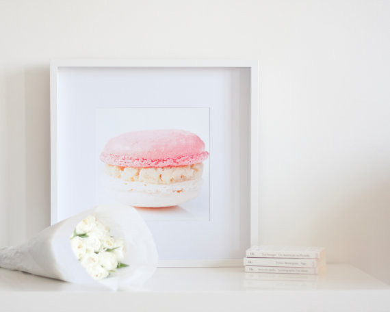 Strawberry and Vanilla Macaroon Photo by Magalerie contemporary-artwork