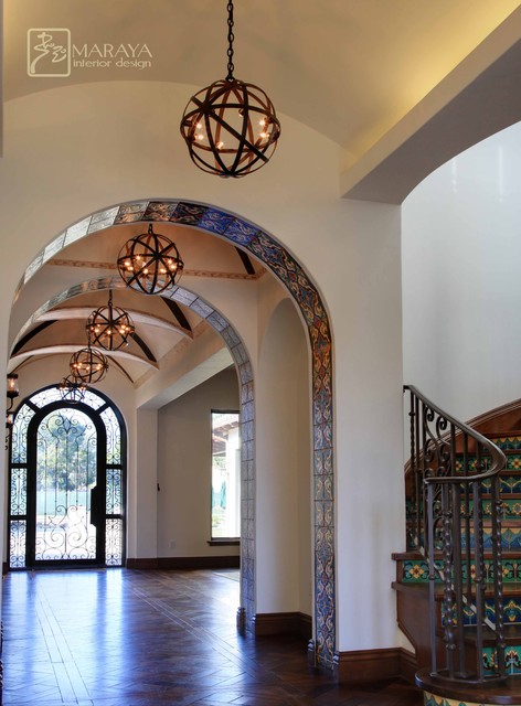 Spanish Entry Foyer & Hall mediterranean-entry