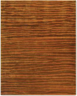 Soho Animal Print Wool Area Rug contemporary-paintings