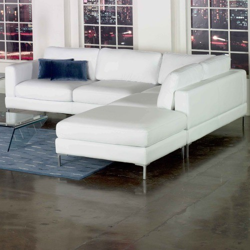 Domicile Loft Leather Sectional modern-sectional-sofas