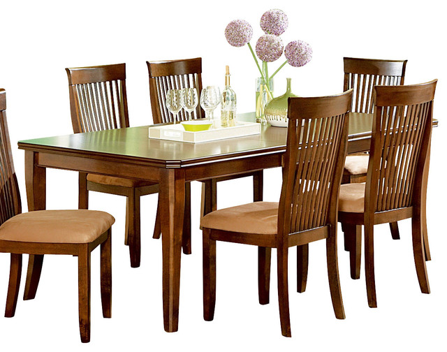 Steve Silver Montreal Dining Table with Leaf traditional-dining-tables