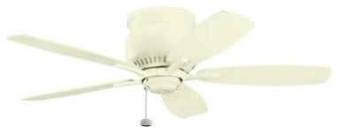 Kichler 300124ADC Richland II 42 in. Indoor Ceiling Fan - Adobe Cream modern-ceiling-fans