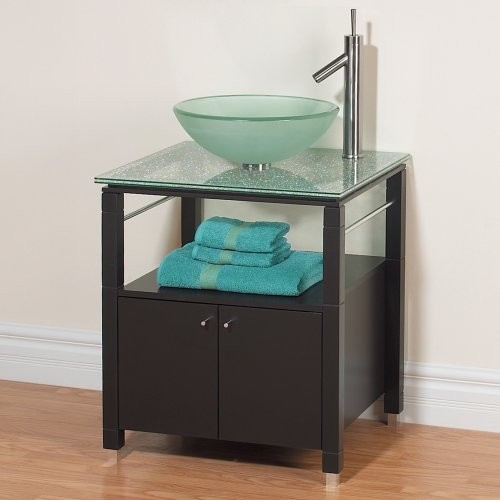 Magickwoods Norwich 25-in. Single Bathroom Vanity contemporary-bathroom-vanities-and-sink-consoles
