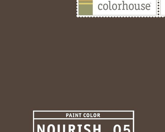 Colorhouse NOURISH .05 - Colorhouse NOURISH .05: Bittersweet chocolate. Dress up this earthy hue with crystal and candlelight. Serious and confident. Beautiful in dining rooms and bedrooms.