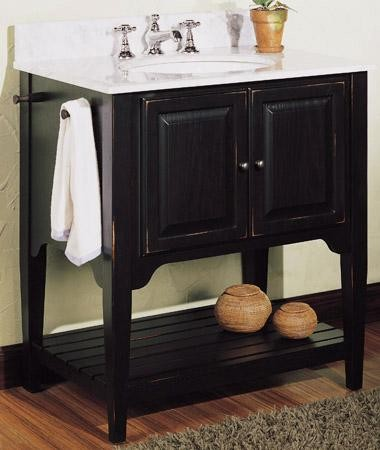 American Shaker 30 Vanity traditional bathroom vanities and sink consoles