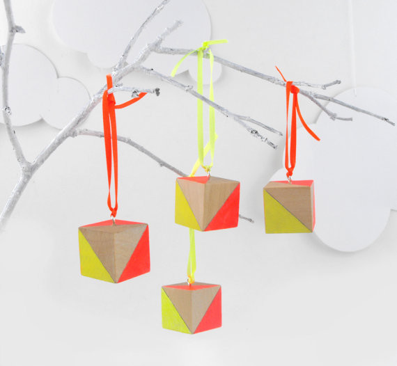 Neon Hanging Ornaments By SketchInc - contemporary - holiday ...