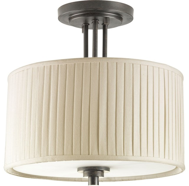 Thomasville Lighting Clayton Semi Flush Mount Ceiling Light X-48-9573P transitional-flush-mount-ceiling-lighting