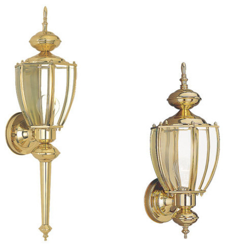 Sea Gull Lighting 8578 02 Polished Brass Curved Classic