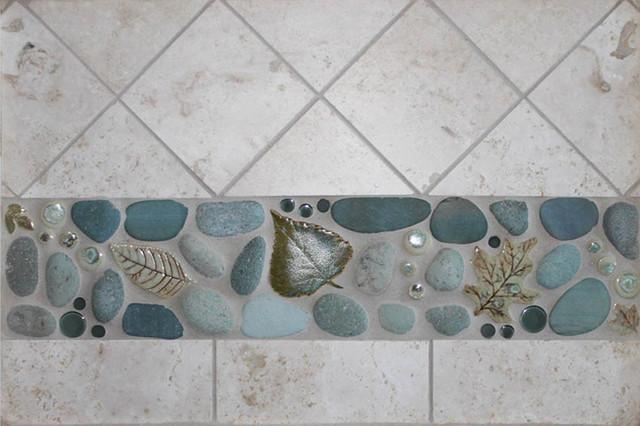 Bathroom/Kitchen Ideas eclectic-tile